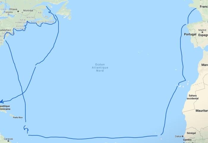 tour de l'atlantique