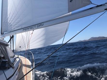 Genaker de La Graciosa vers Arrecife